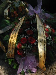 Pogrzeb kol. Janiny Wróbel
