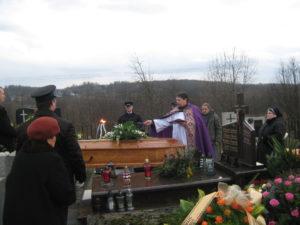 Pogrzeb prof. Antoniego Przybyło - 18.12.2014