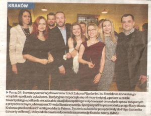 Gazeta Krakowska 18.01.2016r.